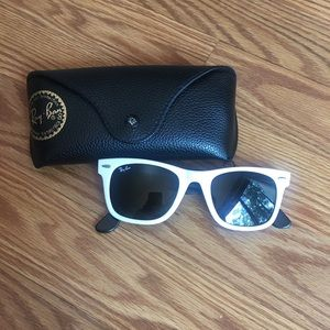 White Ray-ban Wayfair